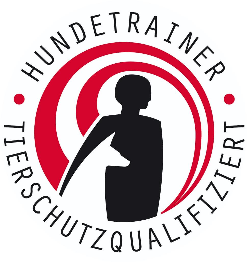 Logo tierschutzqualifizierter Hundetrainer